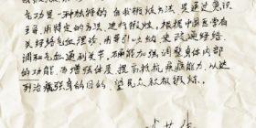 Qigong con il M°  Li Rongwei
